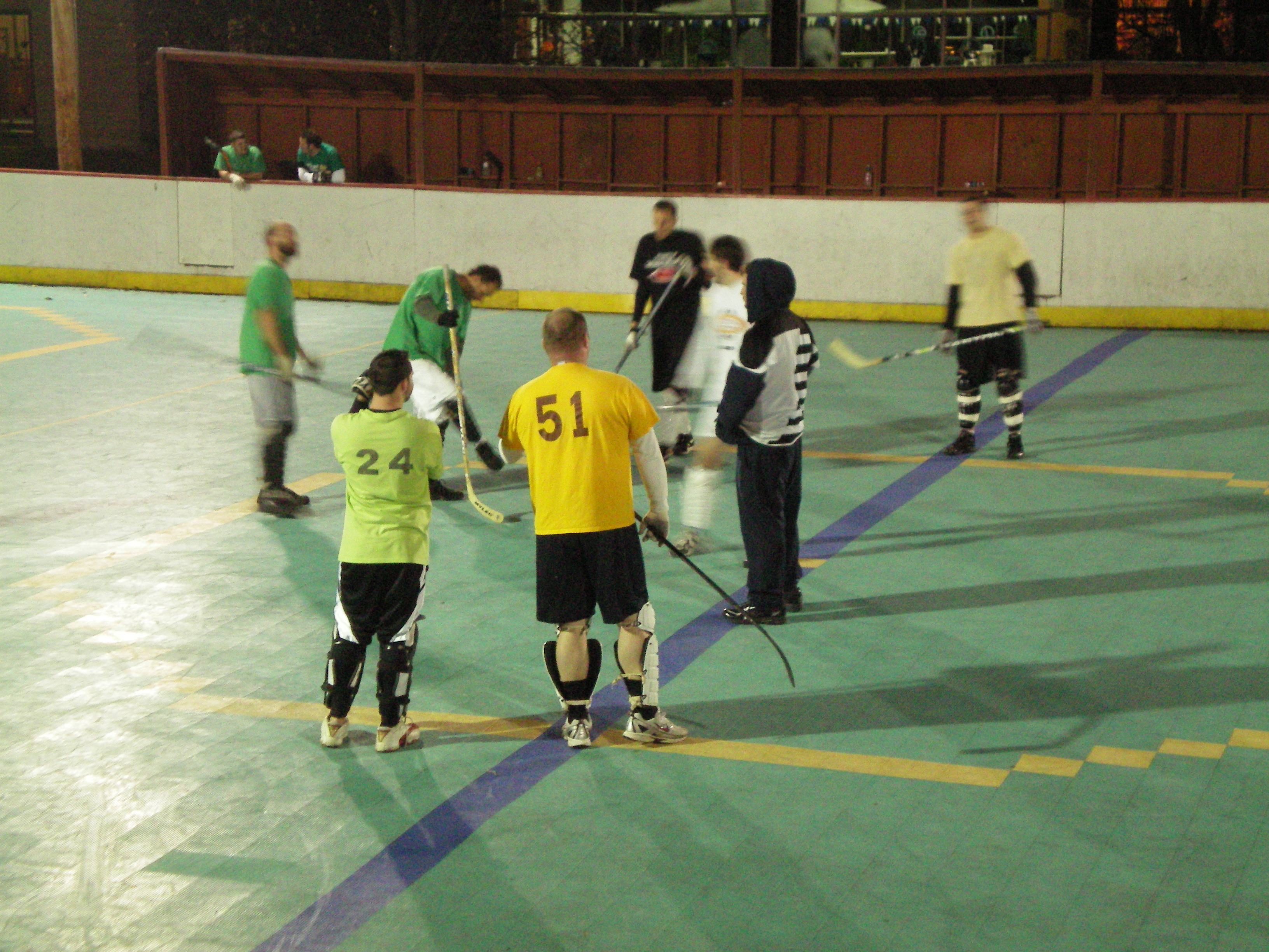 Students Stay Fit Playing Dek Hockey | The Nittany Pride