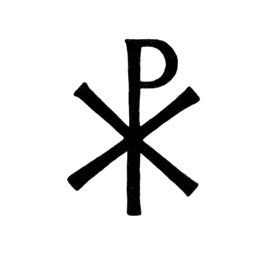 Chi Rho Symbol Catholic